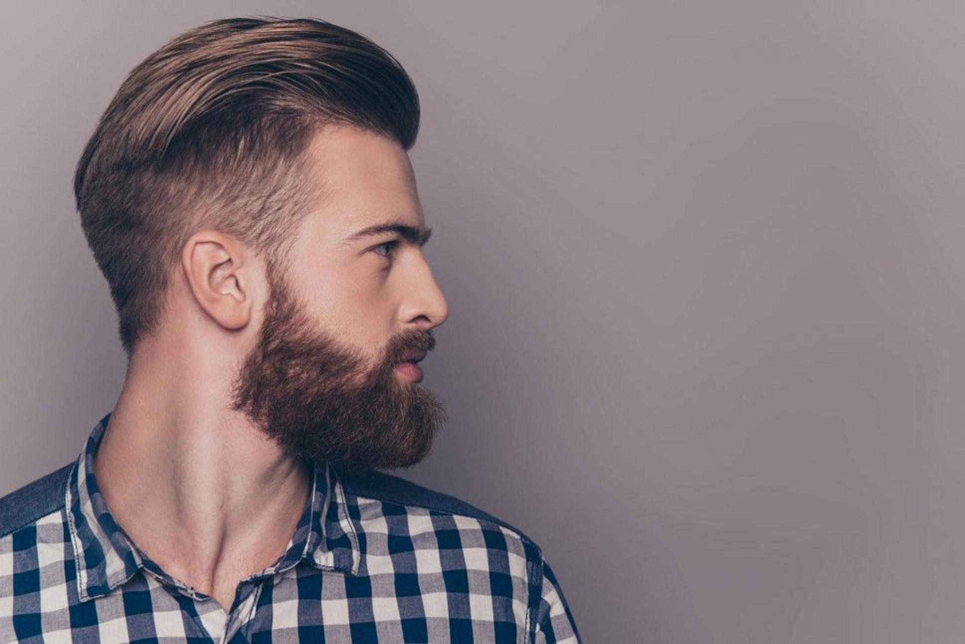 man beard
